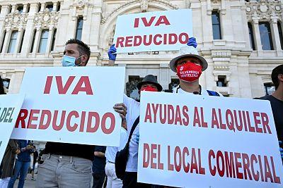 Los hosteleros piden al Gobierno alargar los ERTE, un IVA reducido y mayor carencia en los préstamos del ICO