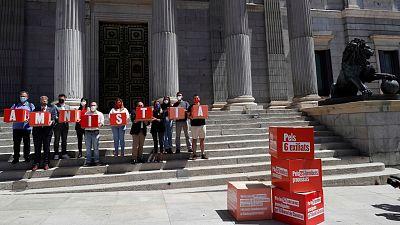 Los independentistas piden con 200.000 firmas la amnistía y no solo los indultos para los presos del 'procés'