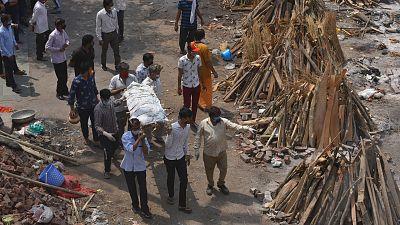 India recibirá ayuda médica de más de 40 países tras superar el umbral de los 18 millones de casos de COVID-19