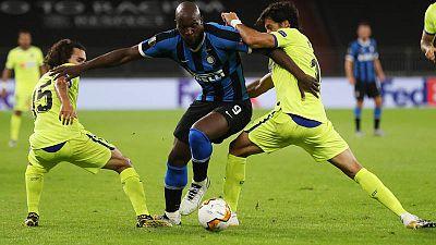 El Getafe paga sus errores ante el Inter