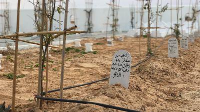 El Jardín de África: un memorial para enterrar con dignidad a los migrantes ahogados en el mar