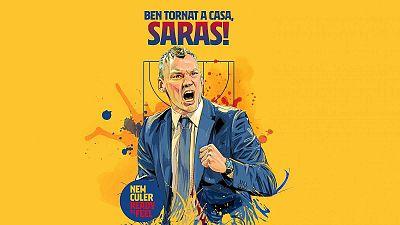 Sarunas Jasikevicius, nuevo entrenador del Barça de baloncesto