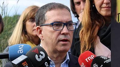 Jaume Alonso-Cuevillas, apartat de la Mesa del Parlament