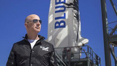 Jeff Bezos viajará al espacio el próximo 20 de julio en el vuelo inaugural de Blue Origin