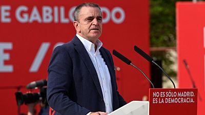 José Manuel Franco presenta su dimisión como secretario general del PSOE de Madrid tras el fracaso electoral del 4M