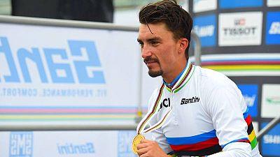 Julian Alaphilippe estrenará el maillot arcoíris en la Lieja-Bastoña-Lieja