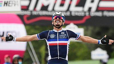 Julian Alaphilippe se proclama campeón del mundo en Imola