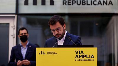 ERC y JxCat se acusan de dinamitar el acuerdo y agitan el fantasma de la repetición electoral