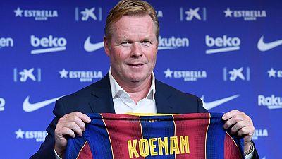 """Koeman: """"Tenemos que recuperar el prestigio y aspirar a lo máximo"""""""