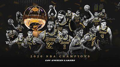 Los Lakers derrotan a los Heat y se proclaman campeones de la NBA