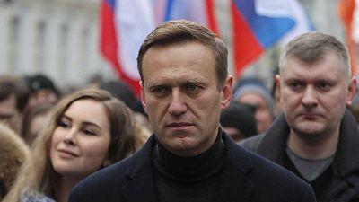 El líder opositor ruso Alexei Navalny, hospitalizado por un presunto envenenamiento