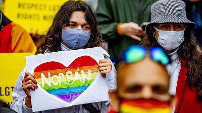 Líderes de 17 países de la UE se comprometen en una carta a defender al colectivo LGTBI tras la polémica ley húngara