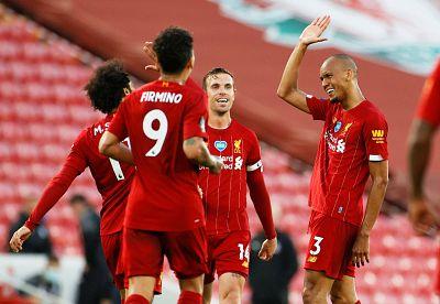 El Liverpool se proclama campeón de la Premier 30 años después