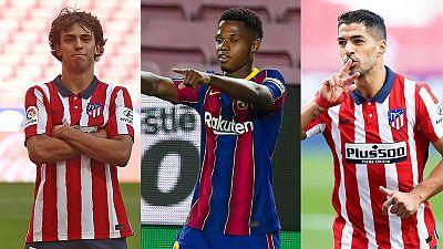 Luis Suárez, Joao Félix y Ansu Fati deslumbran en su vuelta a la Liga