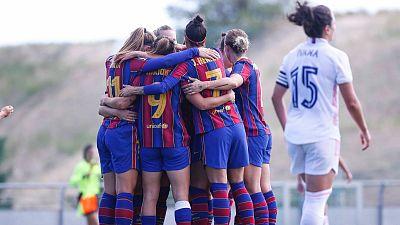 El Barça se lleva el primer 'nuevo' Clásico de la Liga Iberdrola