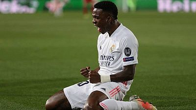 La madurez de Vinicius encamina al Madrid a semifinales de Champions frente al Liverpool