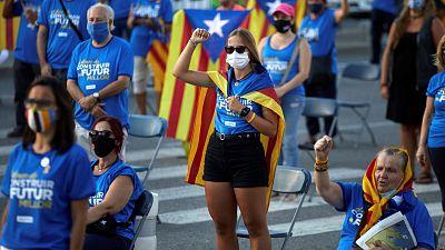 El independentismo pide unidad a sus partidos en una Diada limitada por el coronavirus