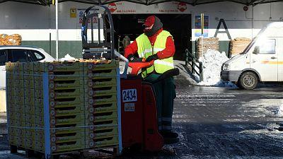 """Mercamadrid recupera su actividad: """"Han llegado más de 1.000 camiones, no va a faltar el producto"""""""