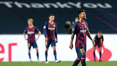 Messi comunica al Barça que quiere abandonar el club