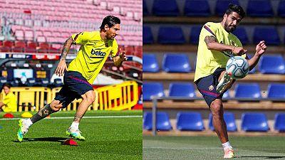 Messi sigue recuperándose y Suárez recibe el alta