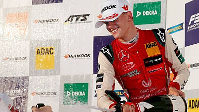 Mick Schumacher, campeón de Europa de F3 28 años después que su padre