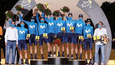 Mikel Landa, Enric Mas y el Movistar hacen bueno el Tour 2020 para los españoles