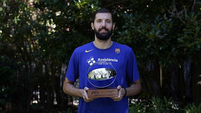 Nikola Mirotic, MVP de la temporada