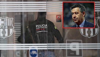 Bartomeu, detenido en el marco de la operación 'Barçagate', pasa la noche en prisión