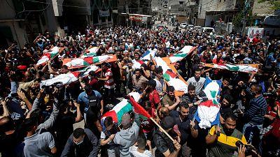 """Mueren diez miembros de una familia en un ataque israelí : """"¿Qué hemos hecho? Nosotros no hemos lanzado cohetes"""""""