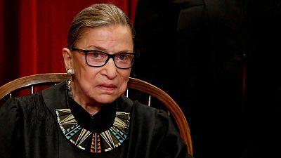 La muerte de la jueza Ruth Bader Ginsburg desata una nueva batalla en las presidenciales de Estados Unidos