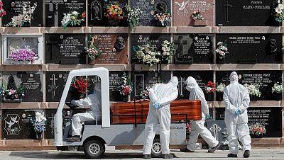 La pandemia elevó las muertes un 17,7 % en 2020, cuando fallecieron 74.227 personas más que el año anterior