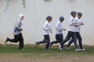 Las mujeres musulmanas, primeras ganadoras en Londres 2012