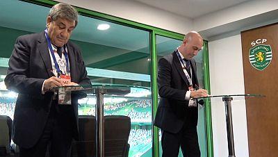 España y Portugal acuerdan impulsar la candidatura conjunta para el Mundial 2030