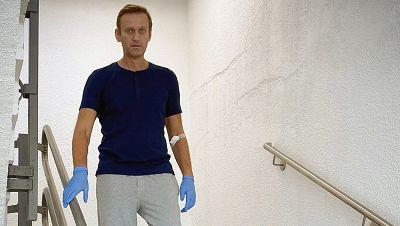 El opositor ruso Navalny es dado de alta y los médicos ven posible su total recuperación