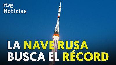 La nave Soyuz MS-17 se acopla a la Estación Espacial Internacional en tiempo récord