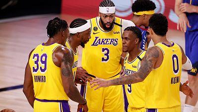 Los Lakers, guiados por un imperial Davis, toman la delantera en la final de Conferencia frente a los Nuggets