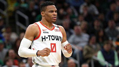 Westbrook da positivo en coronavirus justo antes del viaje de los Rockets a Orlando