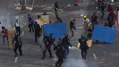 La ONU denuncia un uso excesivo de la fuerza por parte de la Policía en el marco de las protestas en Colombia