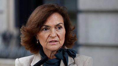 """Calvo pide a Echenique no """"alentar las protestas"""": """"No se corresponden con la libertad de expresión"""""""
