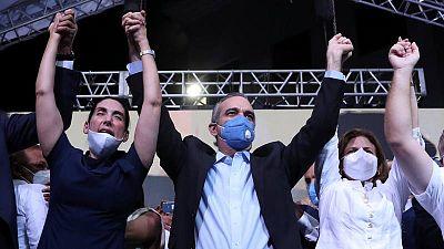 El opositor Abinader gana las elecciones presidenciales en República Dominicana
