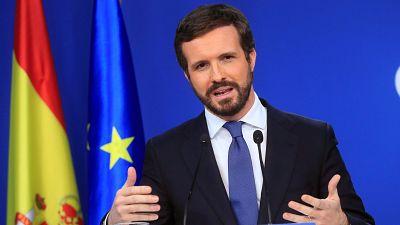 """Casado critica al """"peor Gobierno"""" de la democracia: """"Le define la mentira, la incompetencia y la arrogancia"""""""