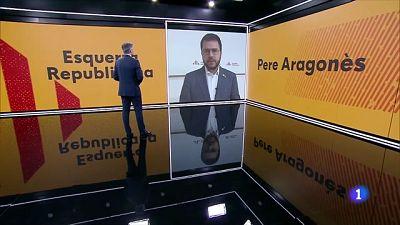 """Pere Aragonès negociarà la seva investidura """"de manera immediata"""" amb la CUP, Junts i els Comuns"""