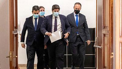 El PP asegura haber pactado con tres diputados de Ciudadanos para tumbar la moción de censura en Murcia