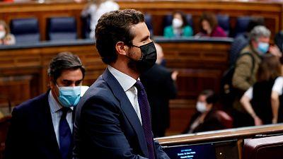 """Casado ofrece a Sánchez renovar los órganos excepto el Poder Judicial pero el Gobierno insiste en negociar """"todos"""""""