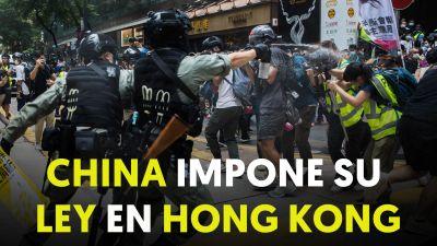 Cerca de 370 detenidos en Hong Kong en el primer día de aplicación de la nueva Ley de Seguridad Nacional