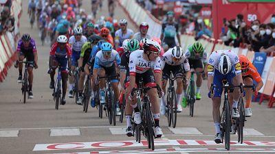 Primera llegada al sprint, ¿habrá más en esta Vuelta?