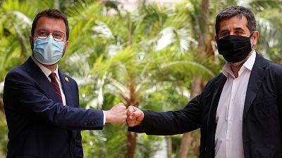 """ERC y Junts acuerdan un Govern de coalición """"fuerte"""" basado en la """"lealtad"""" para constituir la """"república catalana"""""""
