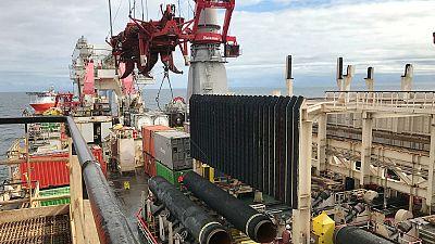 Putin afirma tener un buque para finalizar la construcción del Nord Stream 2