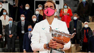 Rafa Nadal, un campeón excepcional para un Roland Garros excepcional