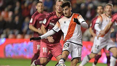 El Rayo - Albacete se reanudará a puerta cerrada y el club vallecano deberá pagar 18.000 euros de multa
